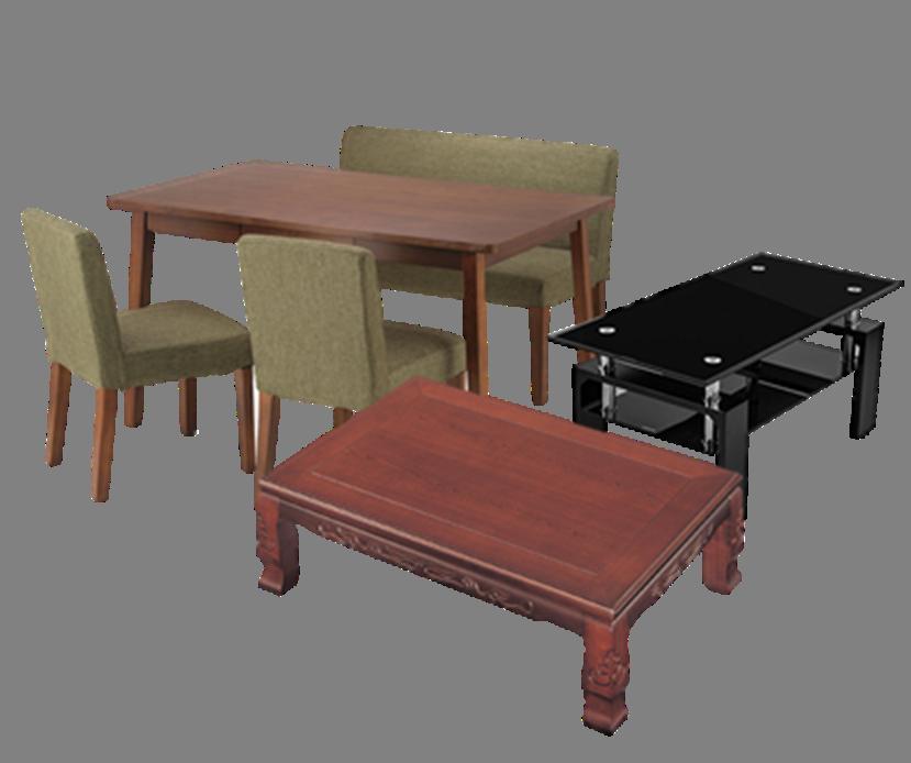 ダイニングセット、テーブル、椅子など