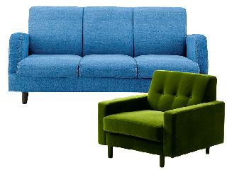 1人用のソファー、大型ソファーなど
